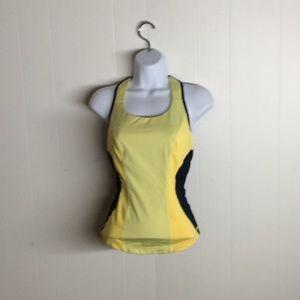 2/$40 Lululemon cardio kick inkwell/yellow size6
